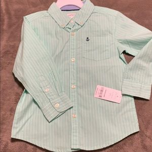 NWT! Toddler Button up Shirt!